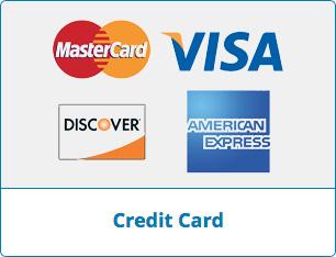 Credit card donate button